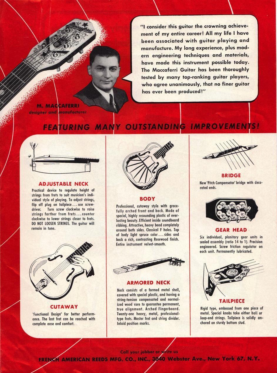maccaferri guitar - Cerca con Google