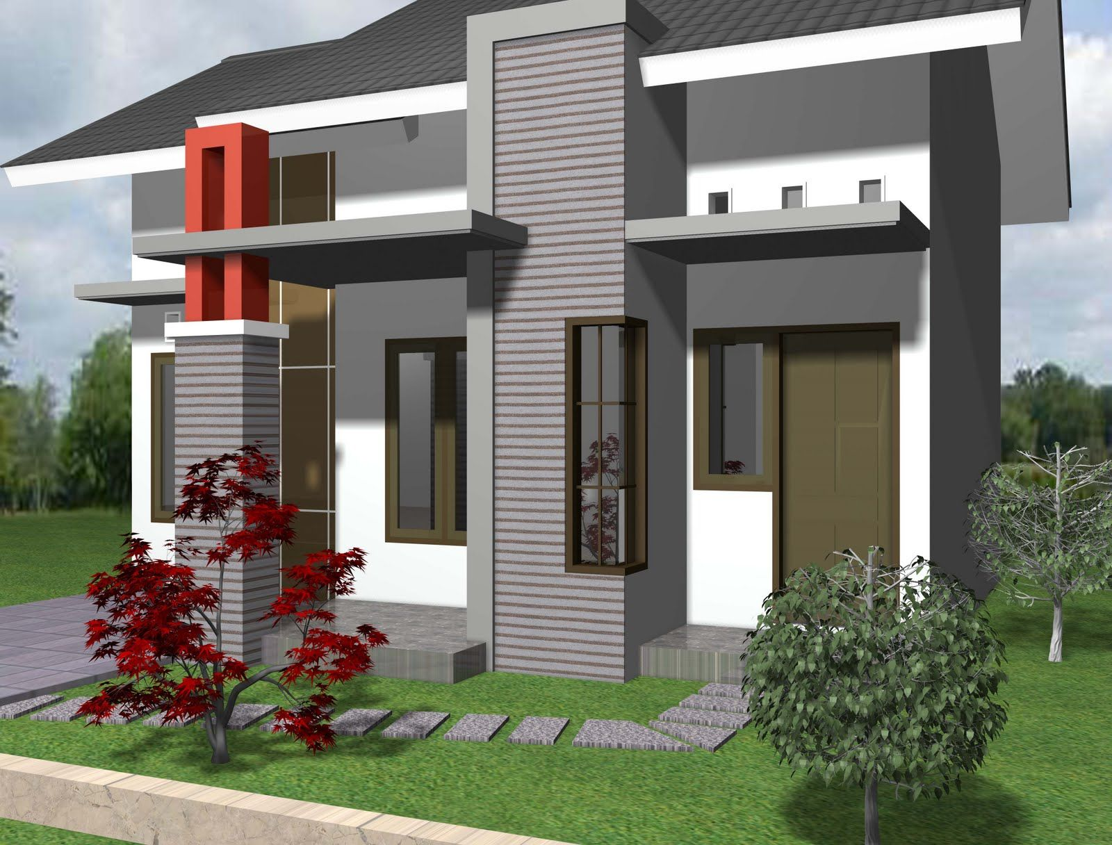 Model Rumah Minimalis Image Ideas For The House Pinterest