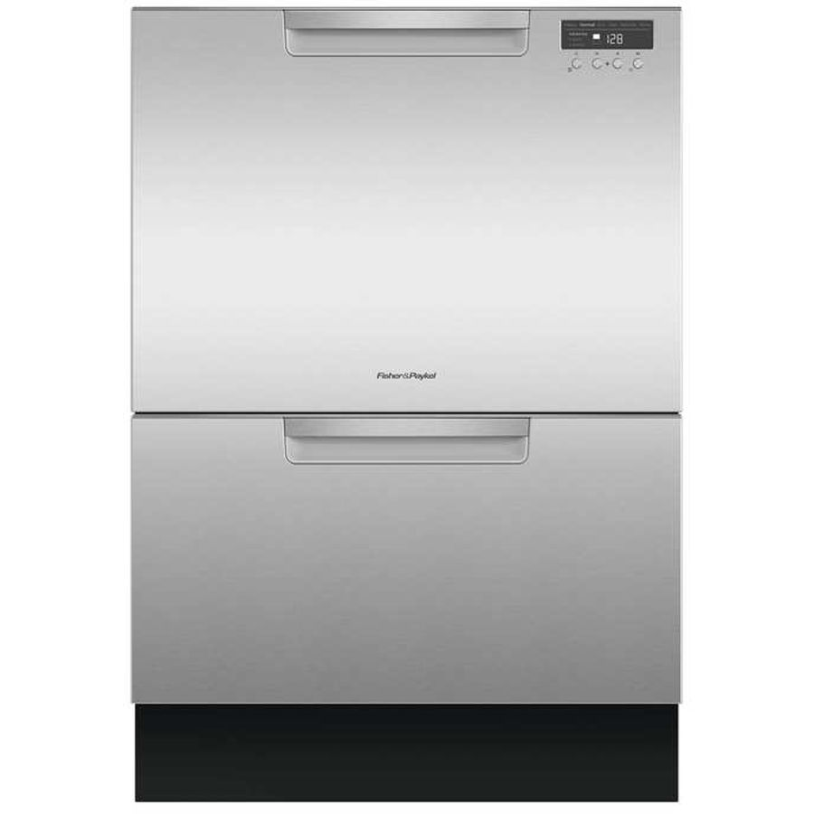Fisher Paykel 44 Decibel Double Drawer Dishwasher Energy Star Common 24 Inch Actual 23 5625 In Lowes Com Double Drawer Dishwasher Drawer Dishwasher Drawer Dishwashers