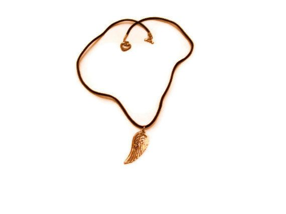 40 off sale Angel Wing Necklace by CreationsByJanetUSA on Etsy, $7.00