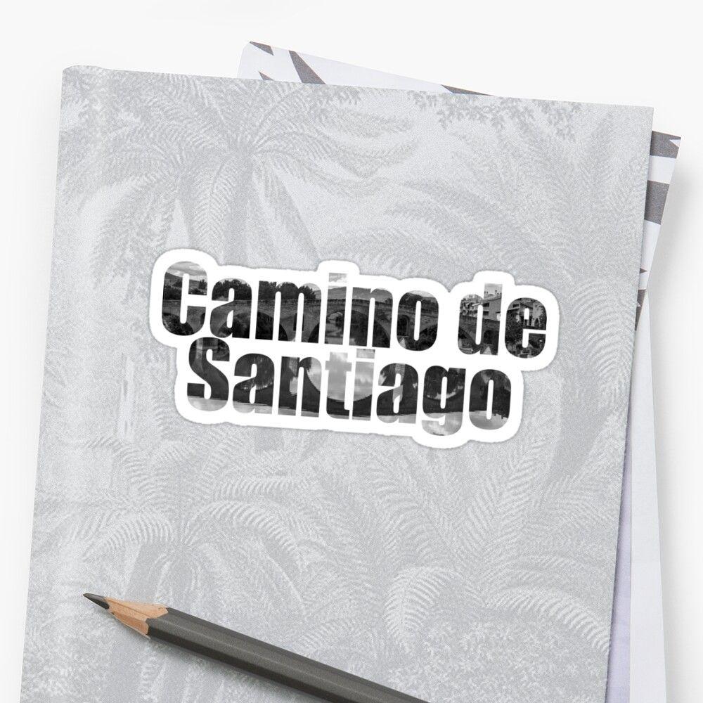 Pegatina del Camino de Santiago