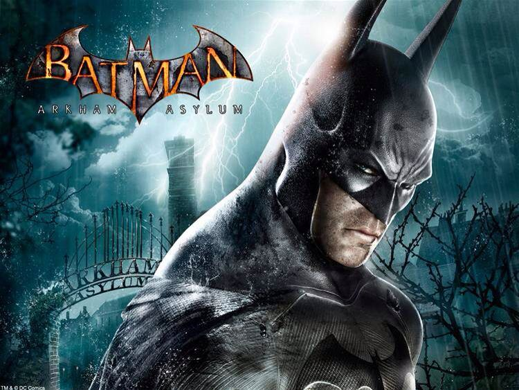 Video Games Batman Arkham Asylum