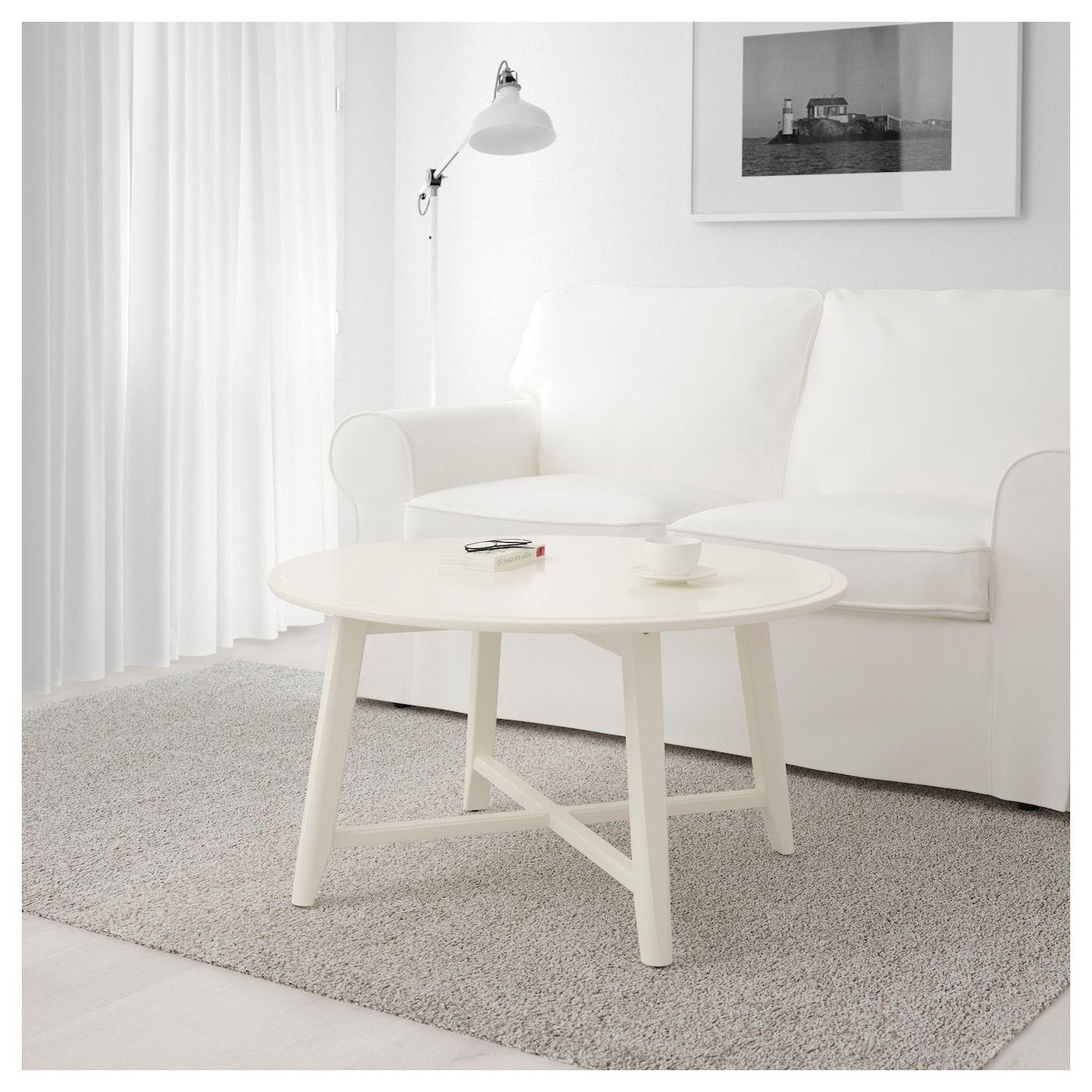 Kragsta coffee table white 35 38 ikea coffee table