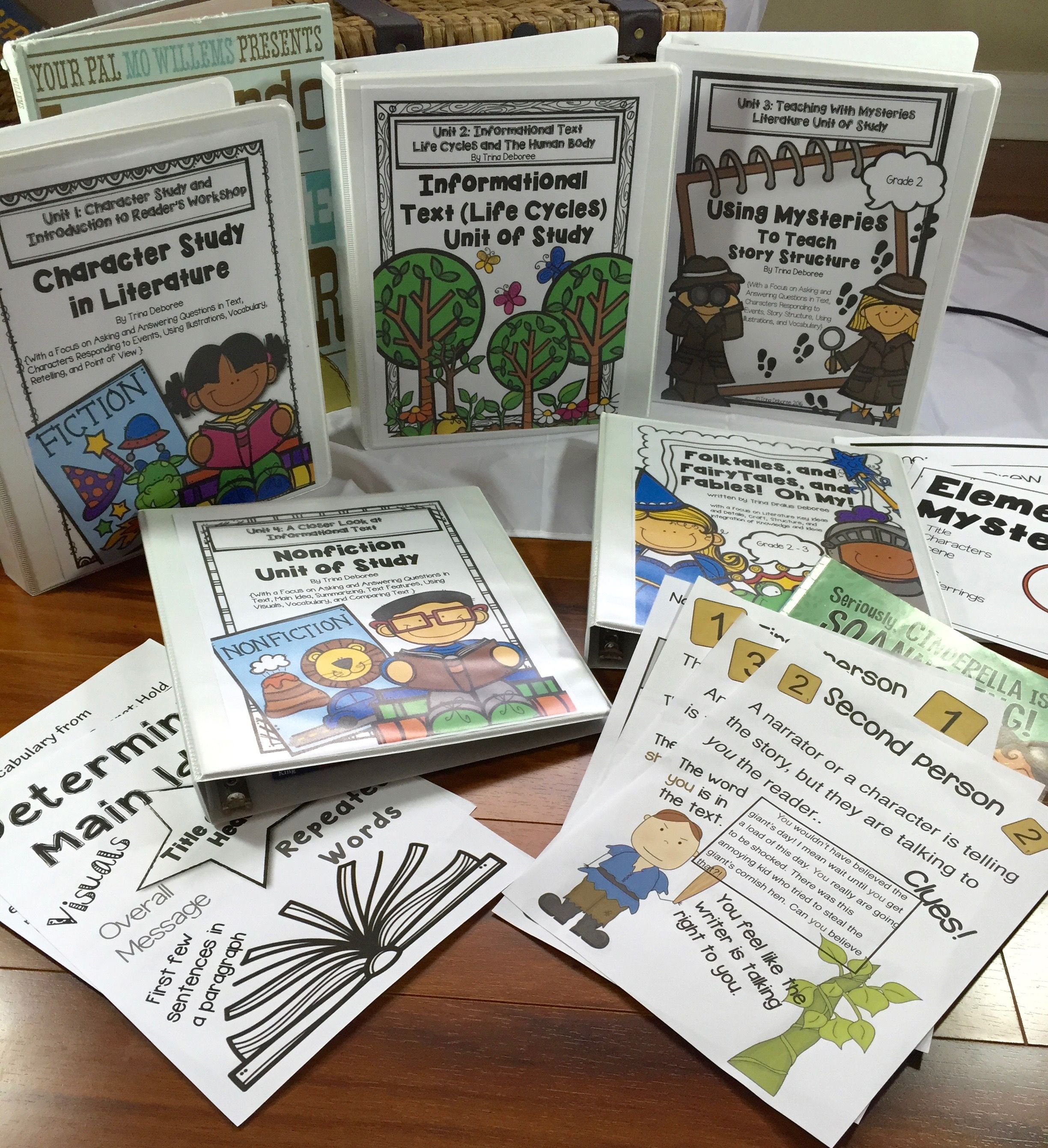 Bundled Reading Units Across The Year For Second Grade Literacy