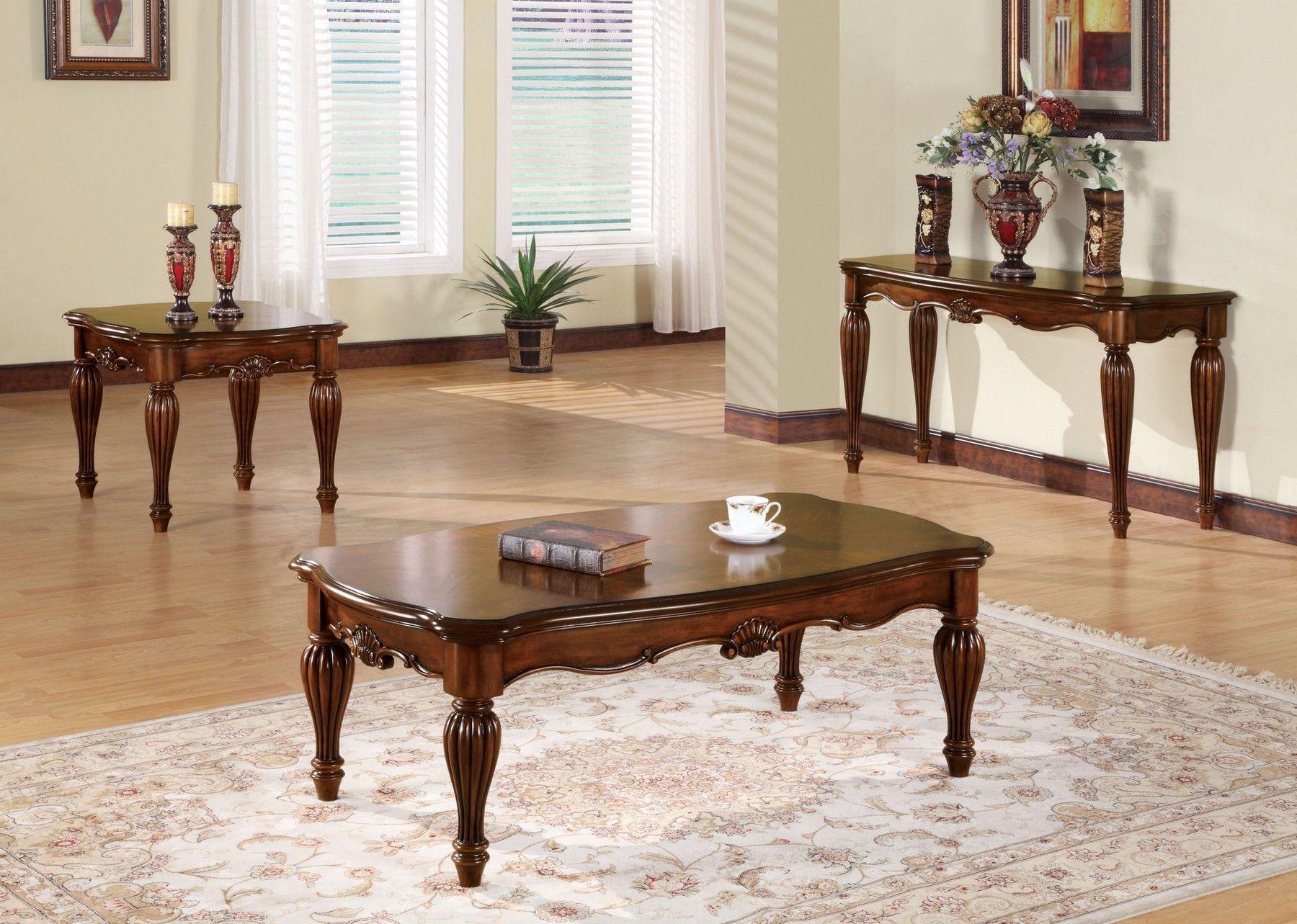 Dreena Sofa 05495 10290 Acme Corporation Fabric Sofas Traditional Coffee Table Coffee Table Coffee Table Wood [ 1283 x 1800 Pixel ]