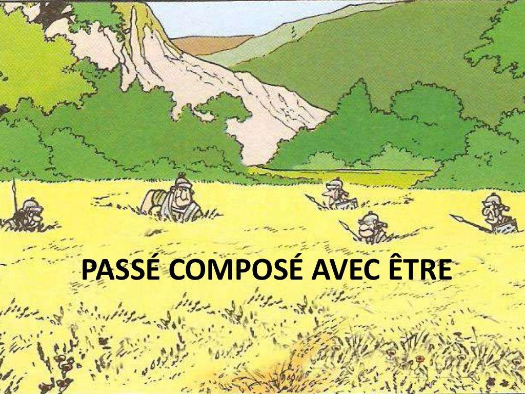 Passe Compose Avec Etre By Vsimo Ar Via Slideshare