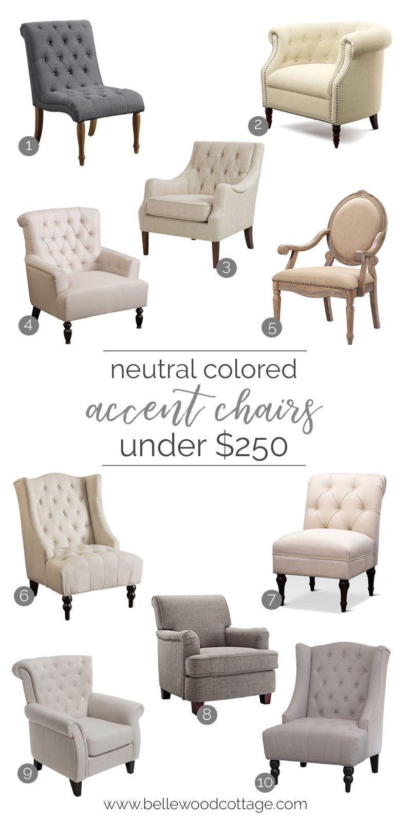 Neutral Accent Chairs Under 250 Elegant Home Decor Home Decor Accessories Home Decor Bedroom