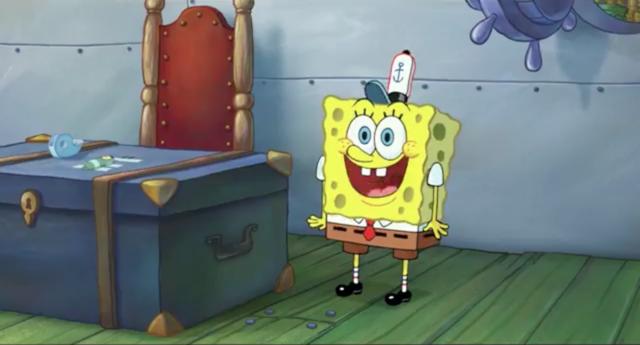 The SpongeBob Movie Sponge Out of Water Spongebob, New