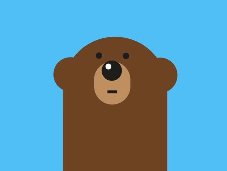 We Bare Bears Grizz Very Closely We Bare Bears We Bare Bears Wallpapers Cute Bear Drawings