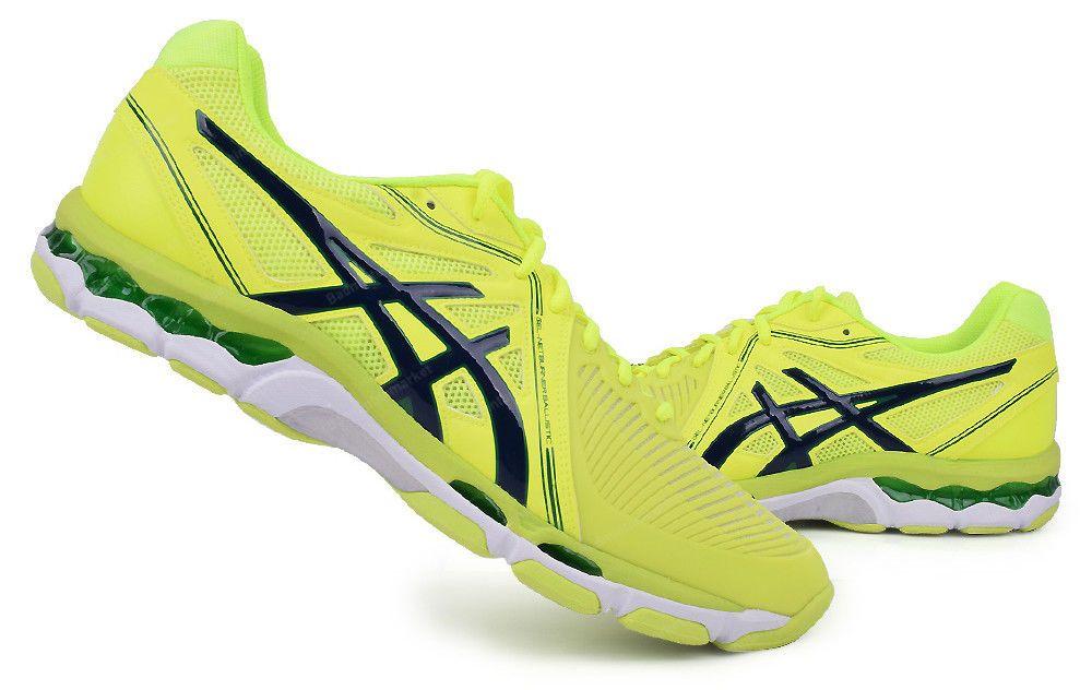 Asics Gel Netburner Ballistic Men S Volleyball Shoes Badminton Yellow B507y 0758 Asics Volleyball Shoes Mens Volleyball Shoes Badminton