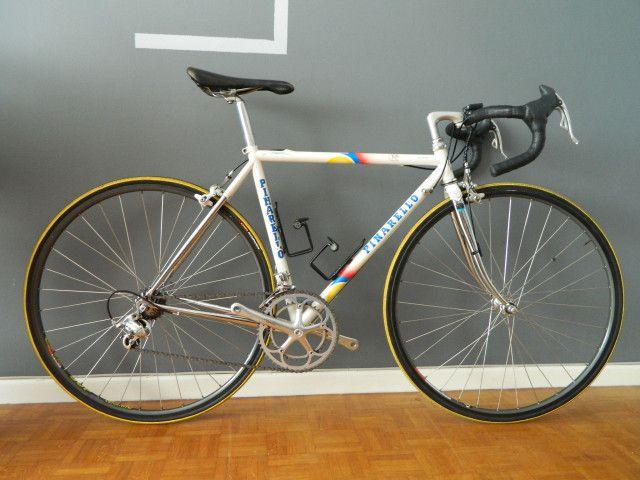Vintage Pinarello Dyna Road Bike Small Size 48 With Campagnolo Record Titanium 9s Pinarello Bike Road Bike