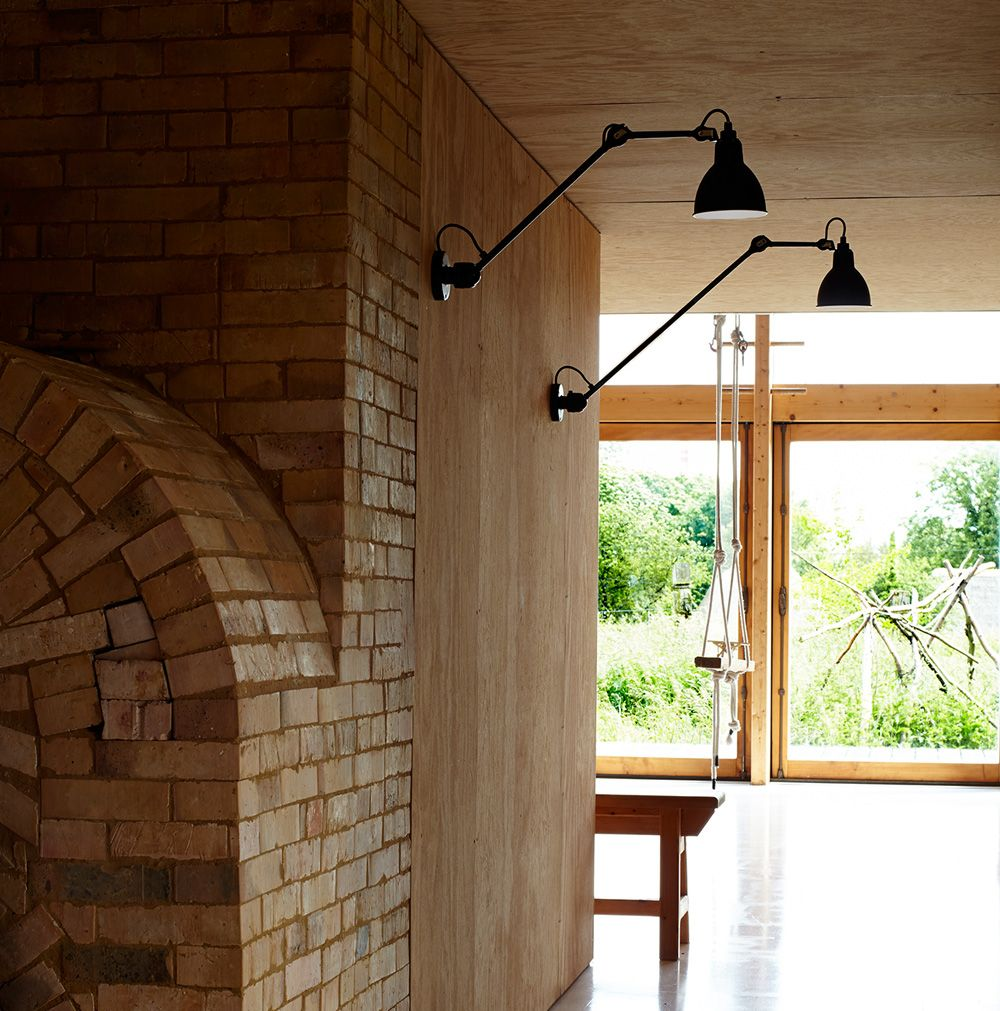 wandleuchte deckenlampe n 304 mit gelenkarm 40 60 cm lampen pinterest. Black Bedroom Furniture Sets. Home Design Ideas