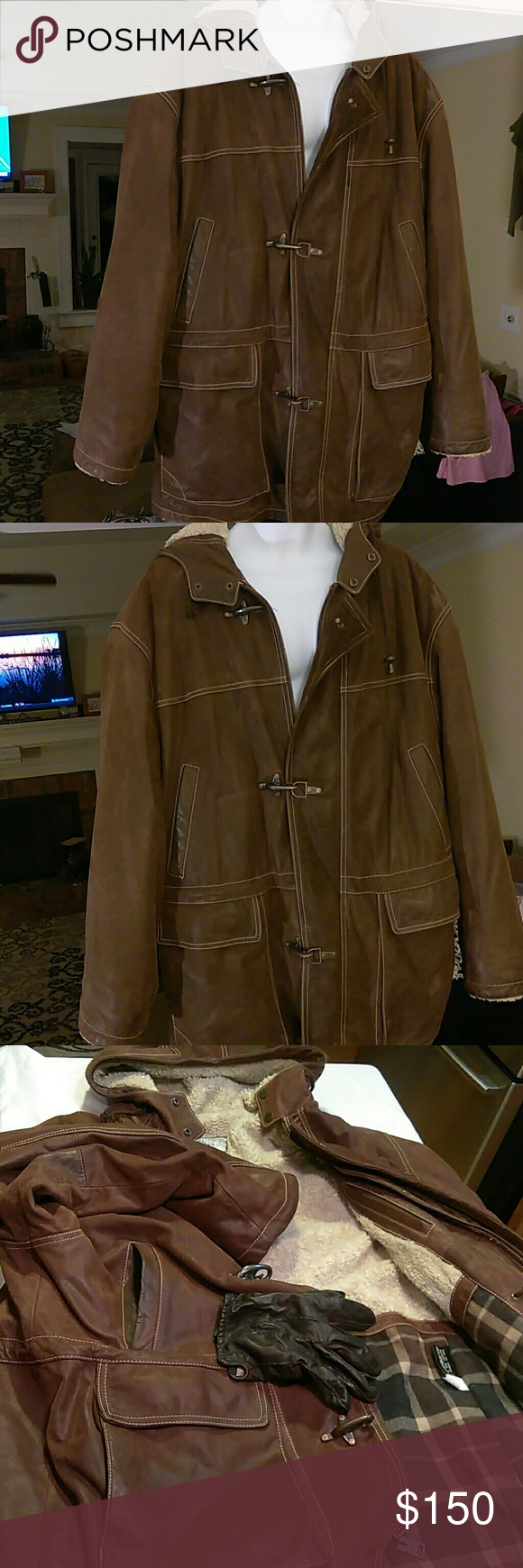 Wilson Leather mens leather coat This coat by Wilson