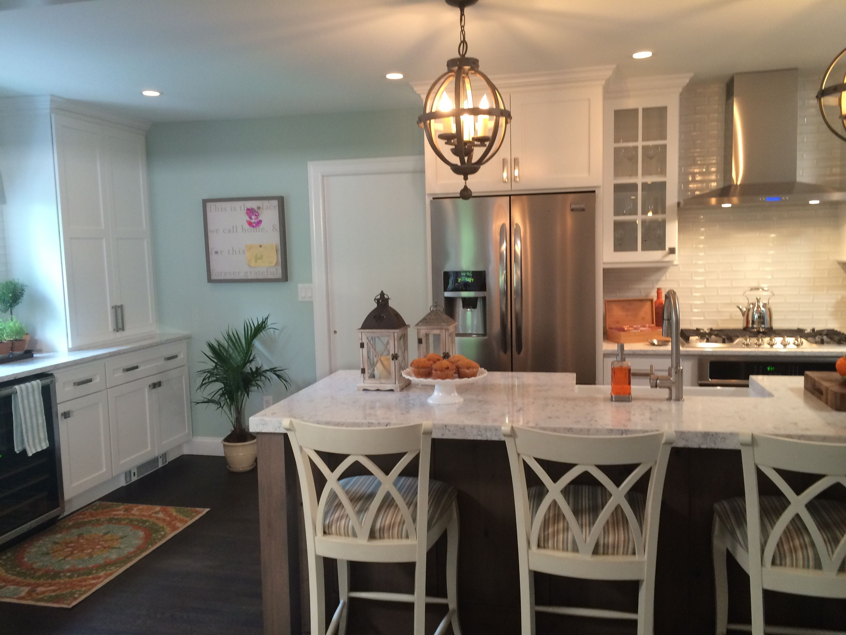 Kevin and Shirley s kitchen on Property Brothers features Savoy