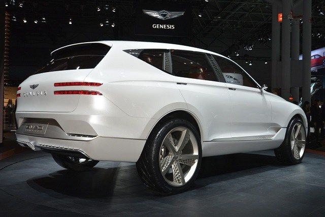 2019 genesis gv80 suv rear view concept cars group pins pinterest suv models and cars. Black Bedroom Furniture Sets. Home Design Ideas