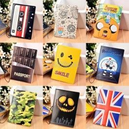 Hot Fashion Passport Holders Protective Cover Ticket Document Organizer Card ID Holders