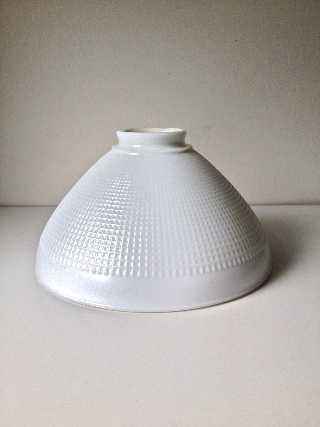 Corning torchiere glass lamp shade large 10 diffuser shade by corning torchiere glass lamp shade large 10 diffuser shade by sarahloveslamps on etsy aloadofball Image collections