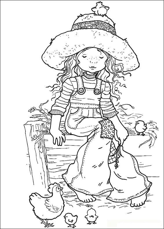 dibujos sarah kay para colorear - Buscar con Google | Coloring pages ...