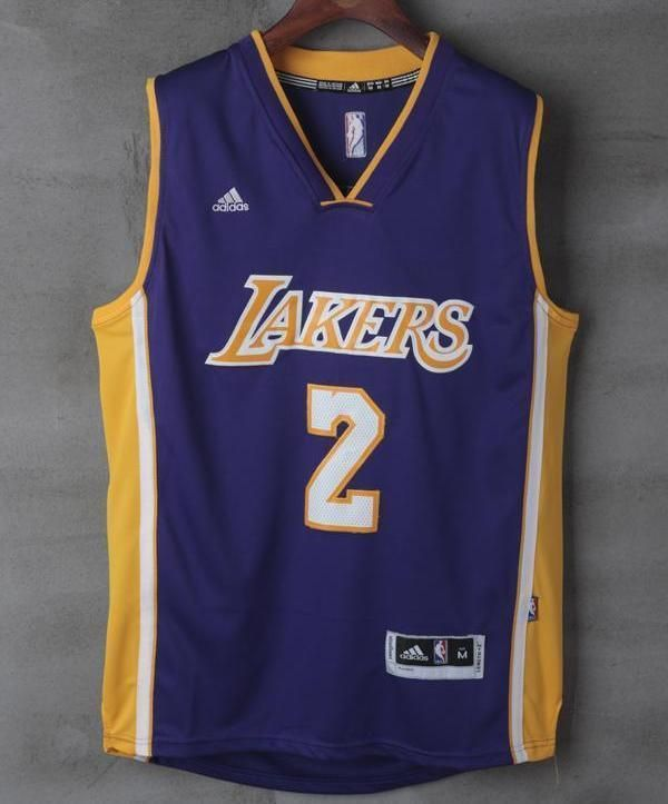 Men 2 Lonzo Ball Swingman Jersey Purple Los Angeles Lakers Jersey Swingman a15cd25ca