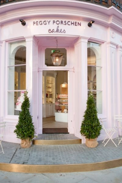 I want the next Faire Frou Frou to look like this on the outside!   Peggy Porschen, London