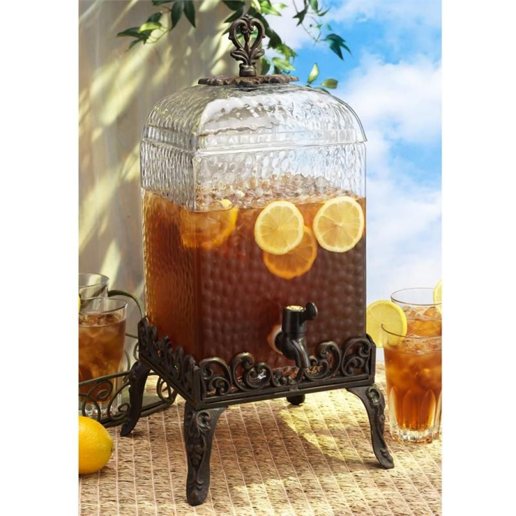 Best Wide Selections Of Gl Beverage Dispenser With Metal Spigot