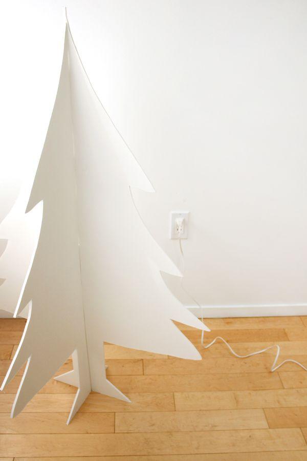 DIY Foam Core Faux Christmas Tree Counseling ideas Pinterest