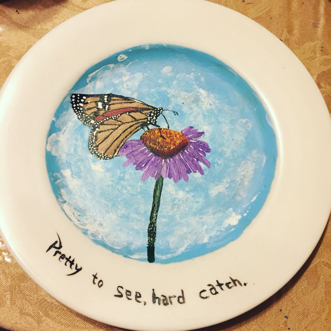 Painting Plates Using Acrylic Paint Plates Using Acrylic Paint Home Crafts
