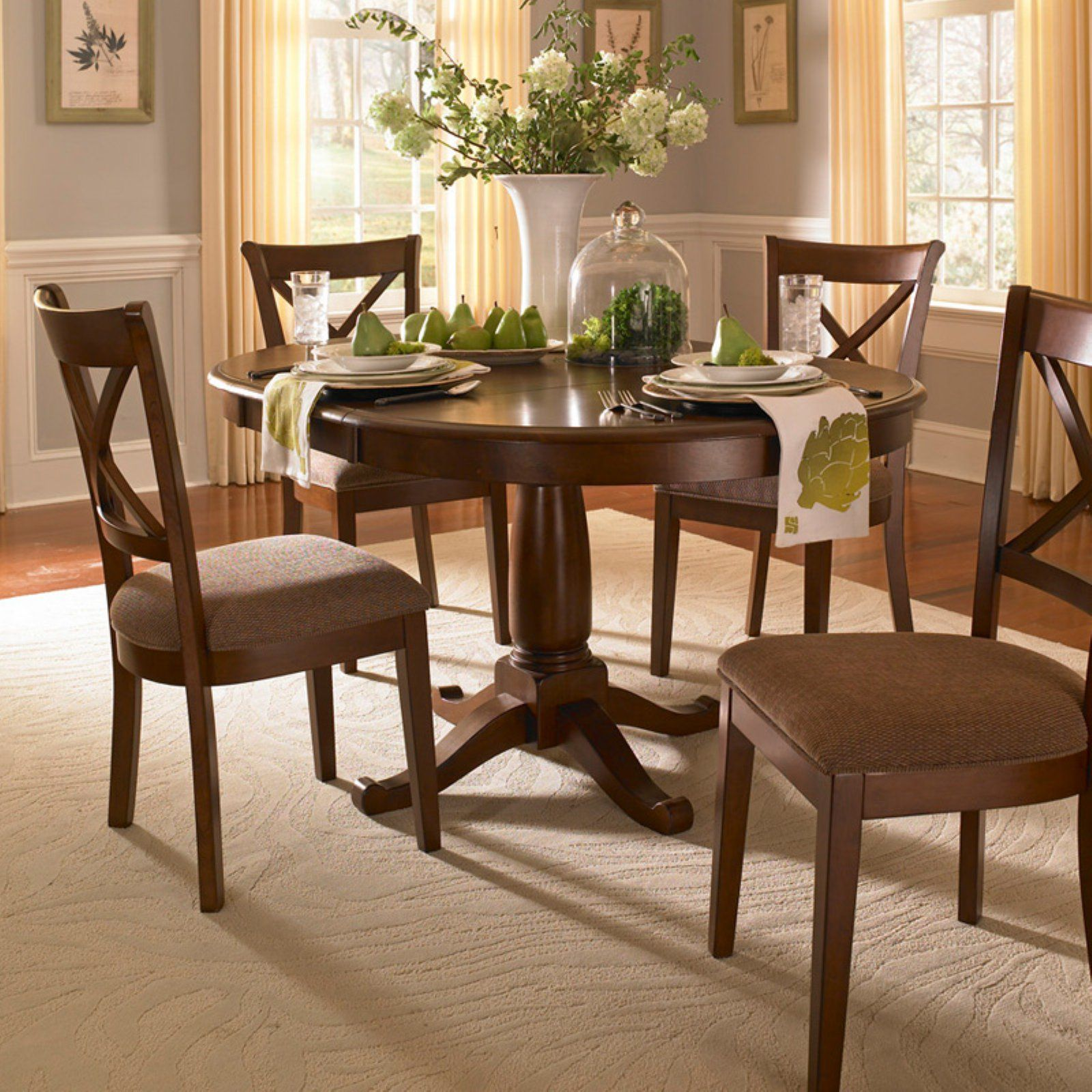 A America Desoto Oval Dining Table With Leaf In 2020 Cheap