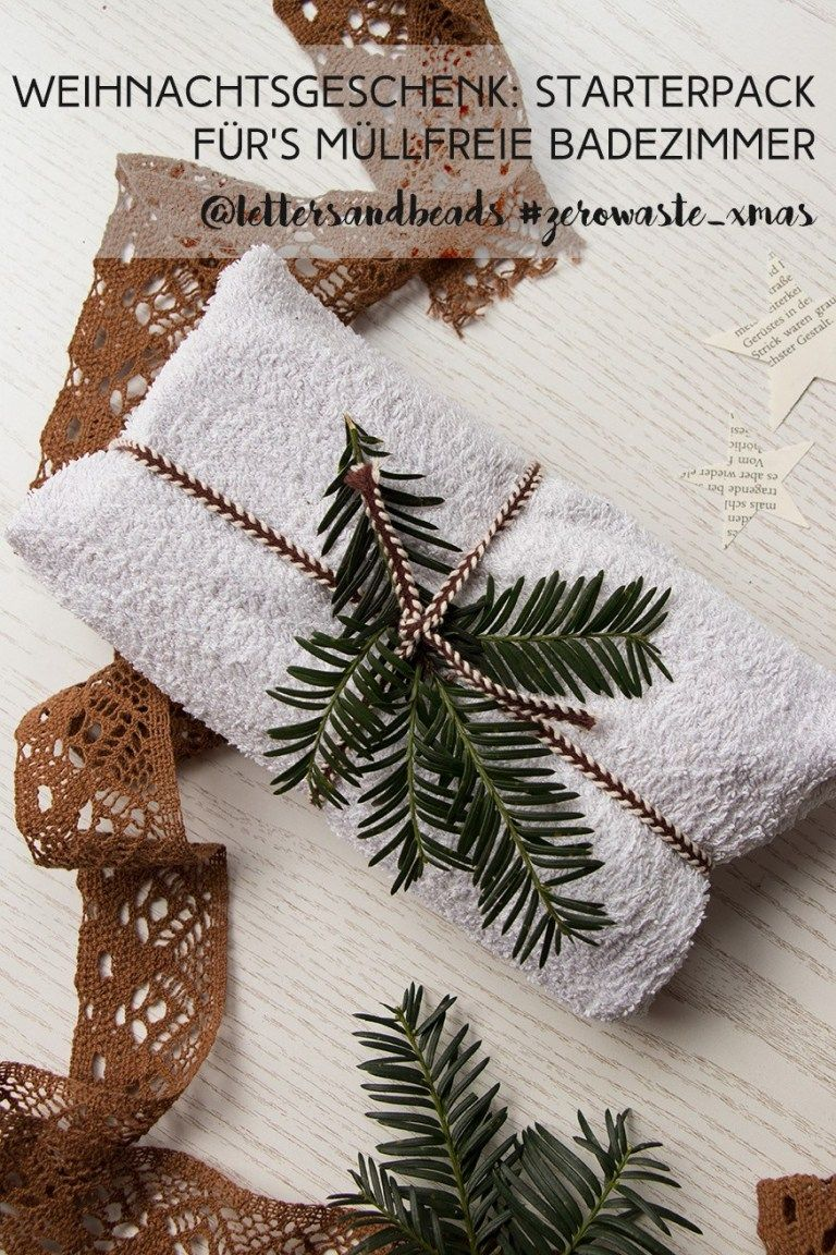 Starterpack Fur Ein Zero Waste Badezimmer Geschenkidee Zu Weihnachten Geschenkideen Weihnachten Und Geschenke