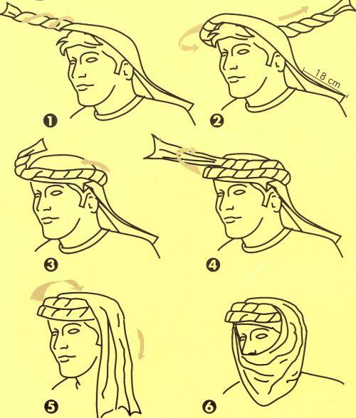 Arrabi Rumal Banna Ka Tarika Arabe Vestimenta Hombre Arabe Ropa De Supervivencia