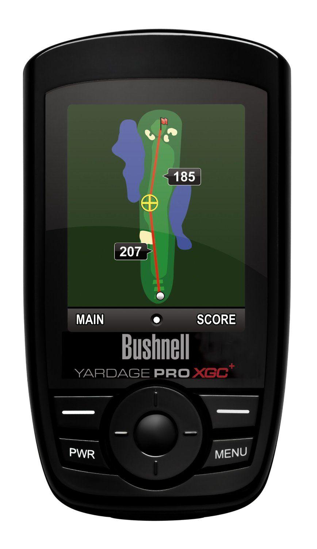 Bushnell xgc golf gps rangefinder yardage pro xgc