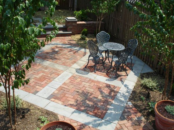 Patio ideas on a budget if you are interested in for Stone patio ideas on a budget