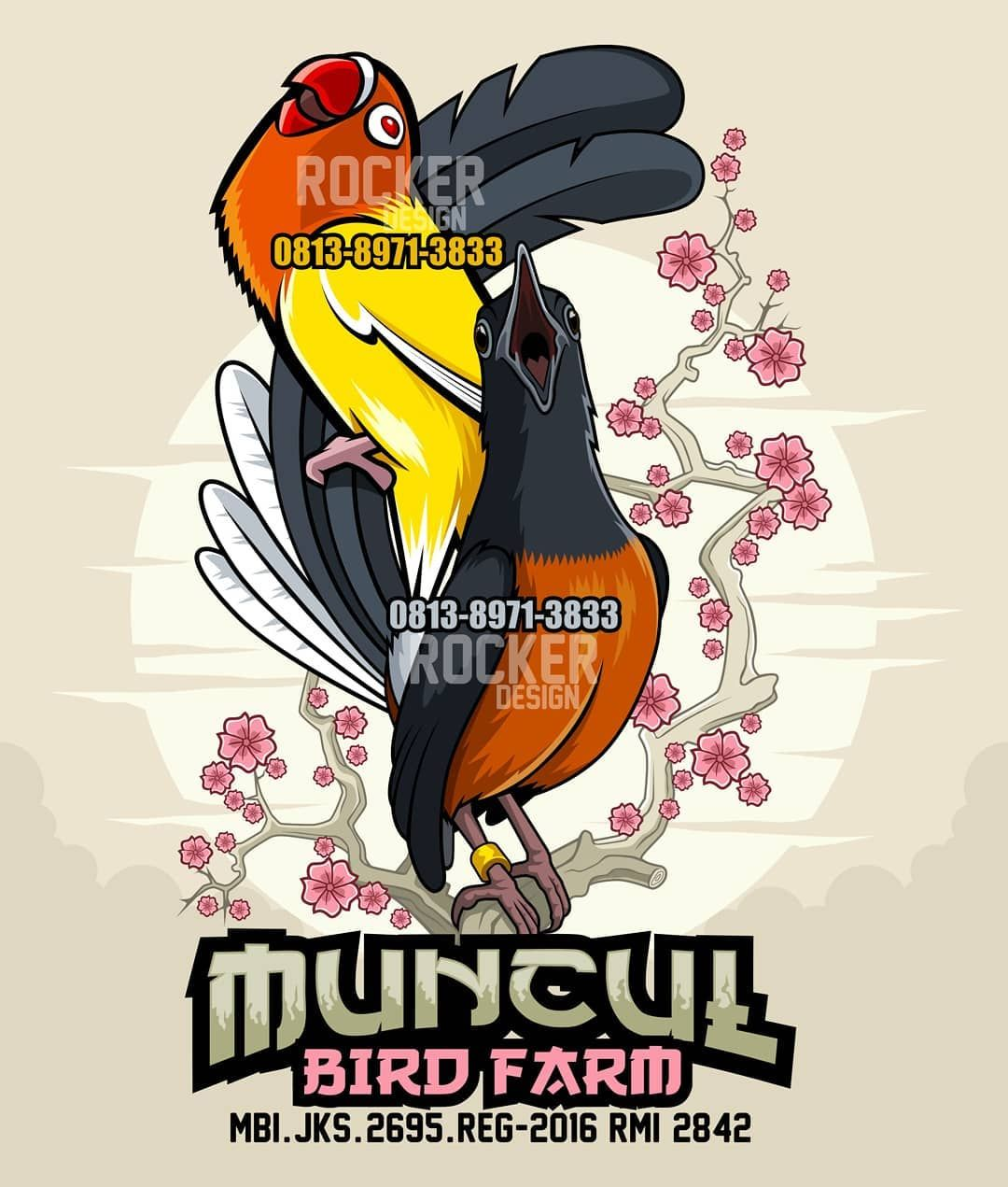 MUNCUL BIRD FARM LOGO For order design Mail rocker