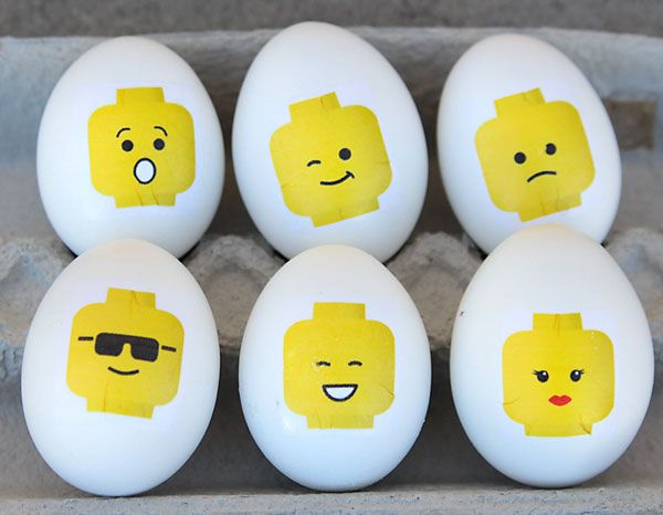fun \ easy Easter kidsu0027 craft DIY LEGO Easter eggs Legos, Huevos - huevos decorados