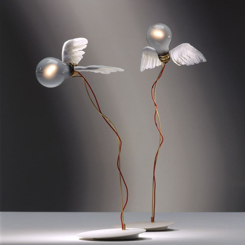 Ingo Maurer Nachttischlampe - Lucellino Tischleuchte diverses - schlafzimmer einrichtung nachttischlampe