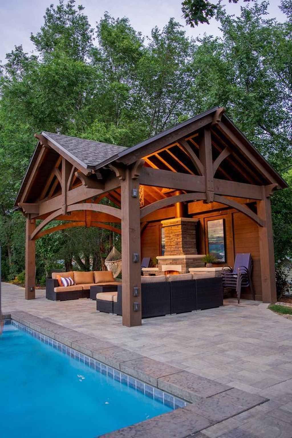 01 Incredible Outdoor Kitchen Design Ideas For Summer Backyard Patio Designs Outdoor Kitchen Design Backyard Pavilion