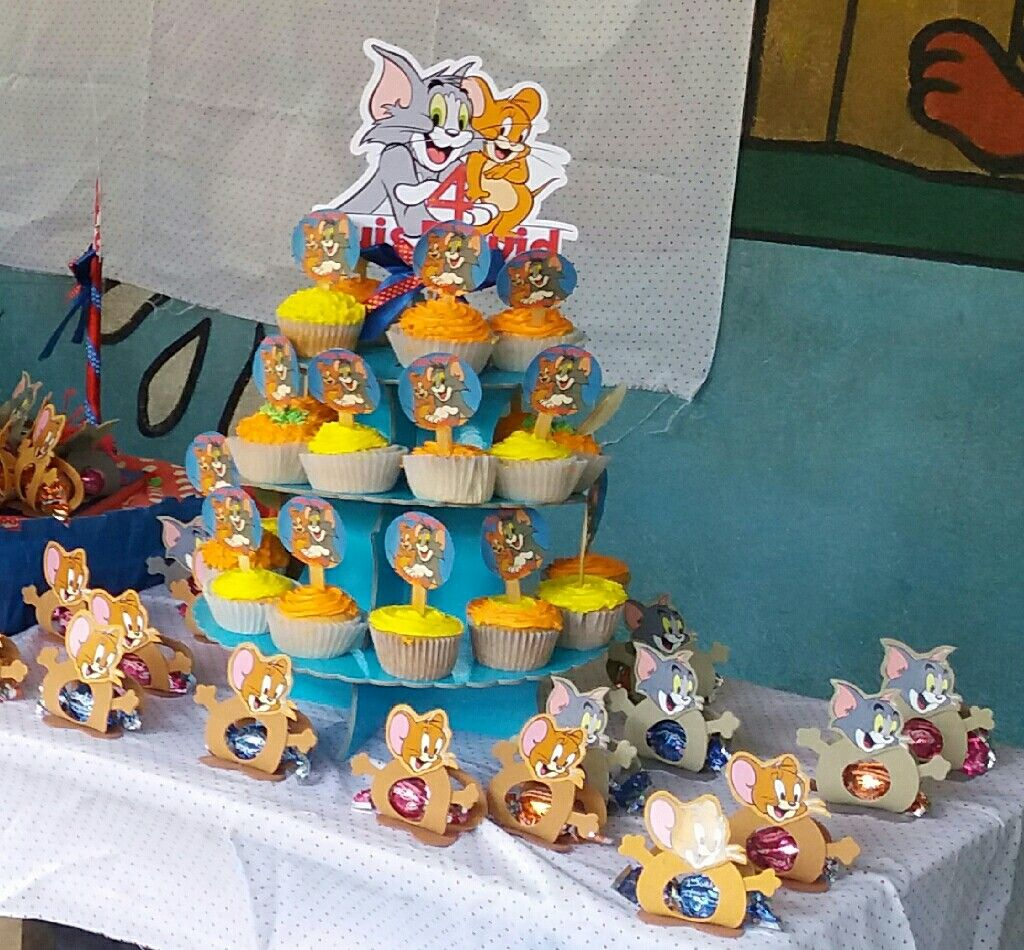 Pin by Rocio Huapaya on Tom Jerry Party Ideas Pinterest Toms