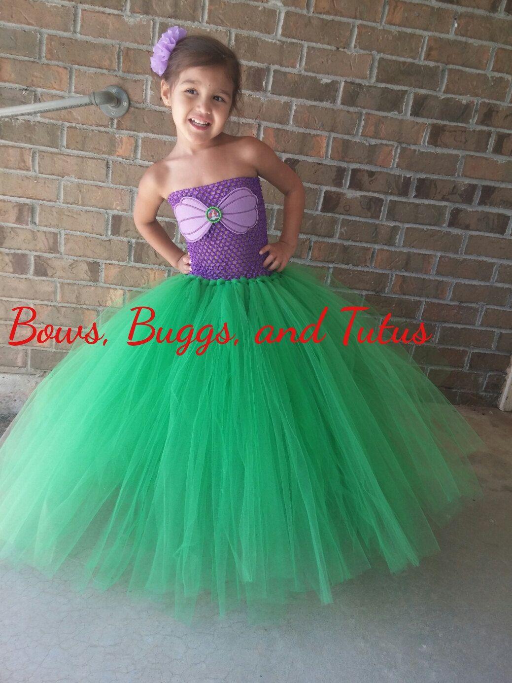 Este Ariel Inspirado Piso Longitud Vestido Es Perfecto Para