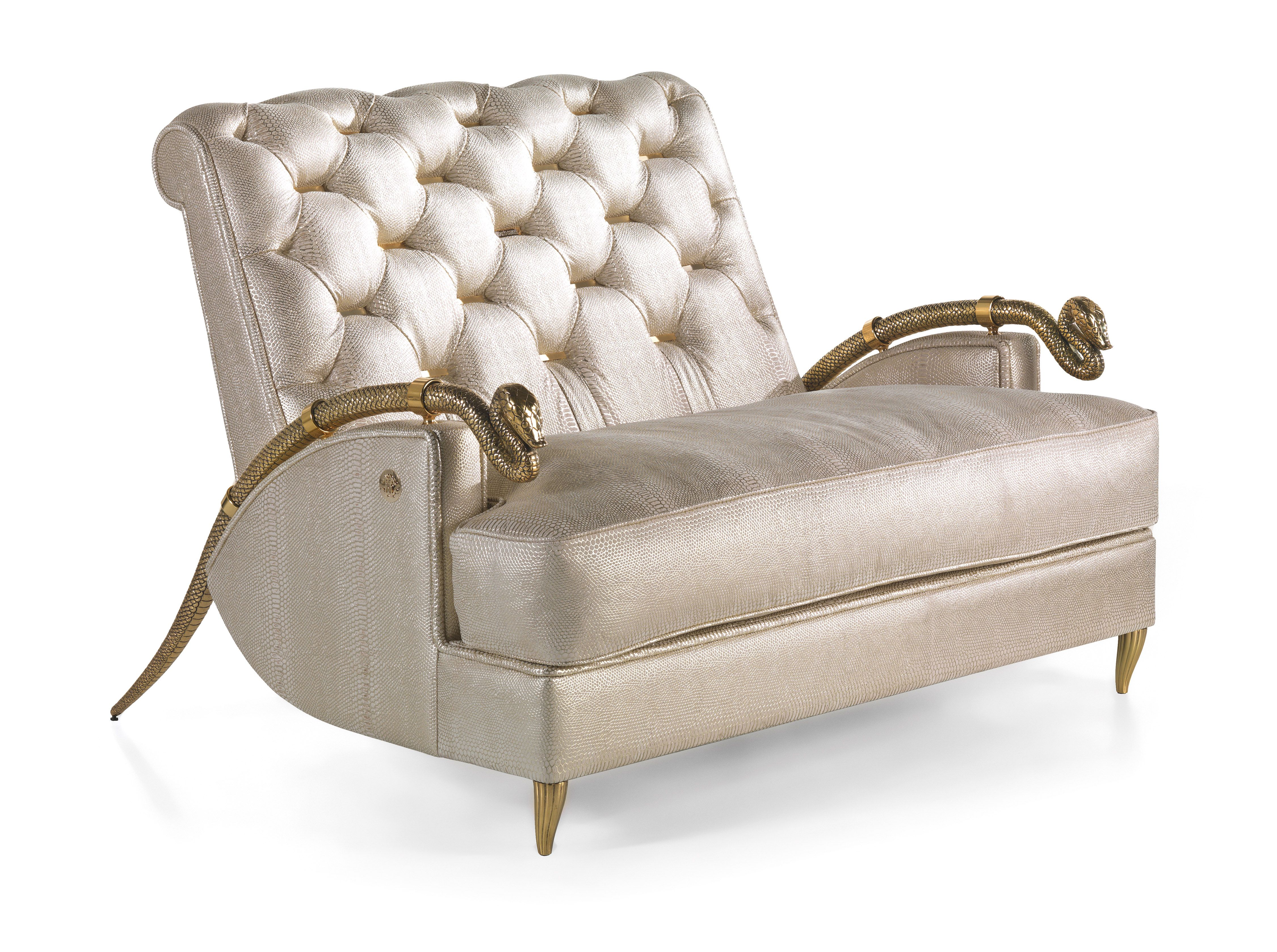 Feel like a King, try the Snake Armchair from Roberto Cavalli Home ...