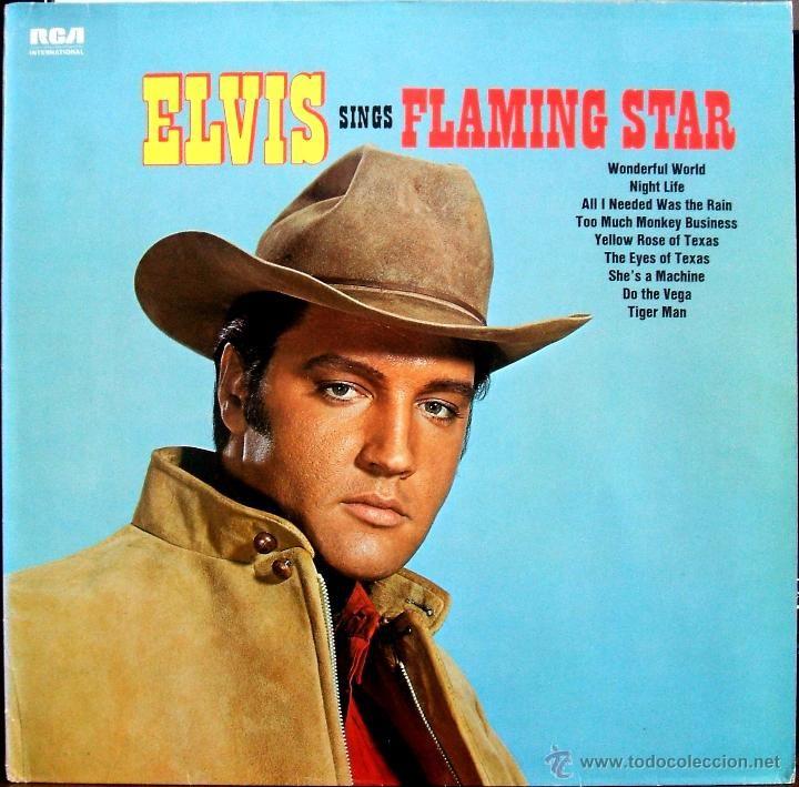 ELVIS SINGS FLAMING STAR (RCA INTERNATIONAL NL89126) GERMANY