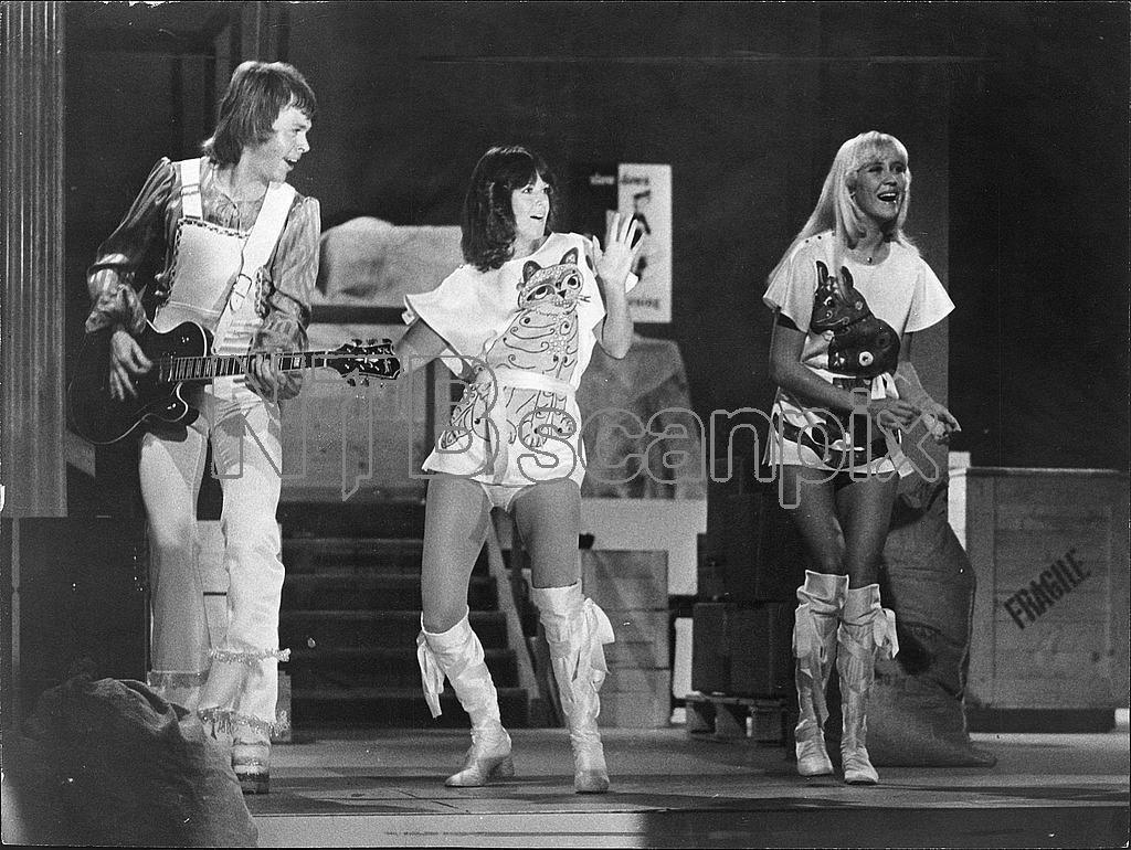 ABBA Björn Ulvaeus Anni-Frid Lyngstad and Agnetha Fältskog