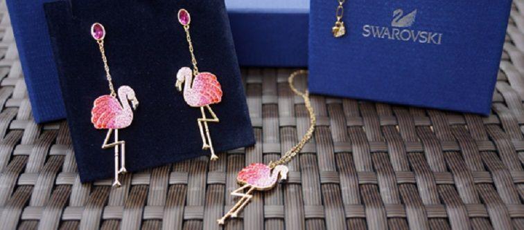Toco Flamingo Earrings By Swarovski Best Jewelry Designs