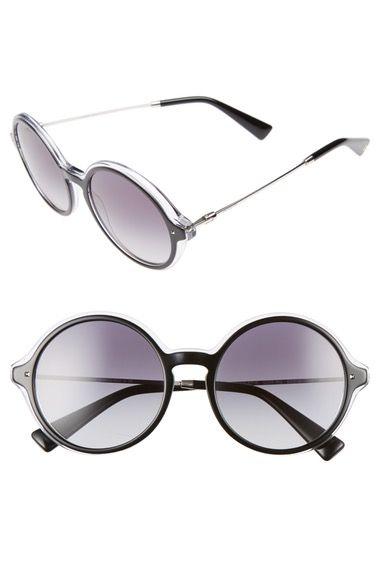 62f6ba6b70  valentino   · Round Frame GlassesBlack CrystalsRound ...