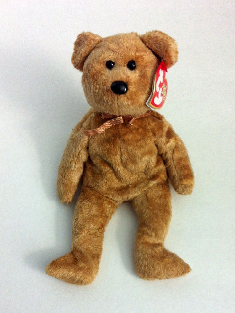 cfbb9b5dbca My Birthday bear! Ty Beanie Baby Cashew Bear Retired Born April 22 ...