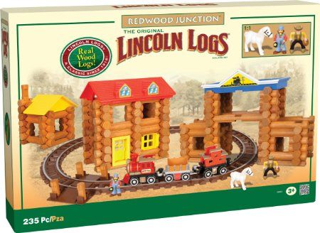 - Amazon.com: Lincoln Logs Redwood Junction - Amazon Exclusive: Toys & Games -