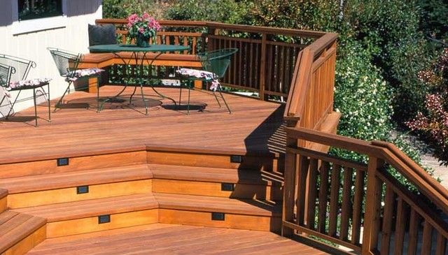 Best Continuous 2X6 Top With 2X4 Balusters Deck Railing 640 x 480