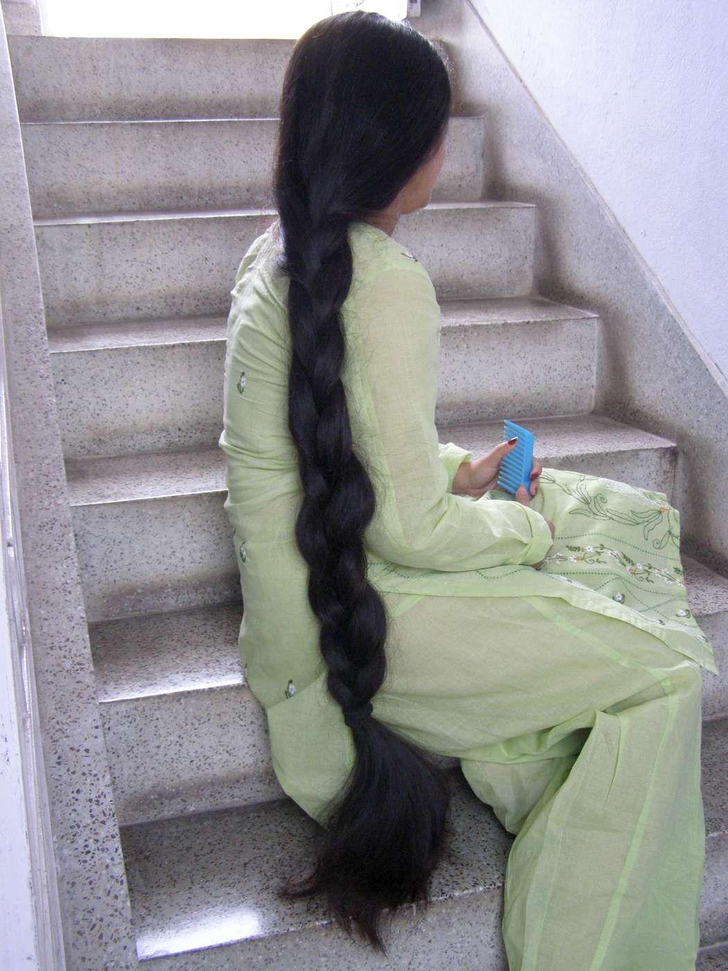 Indian long hair play-7626