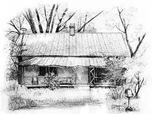 Rustic Farmhouse Sketches