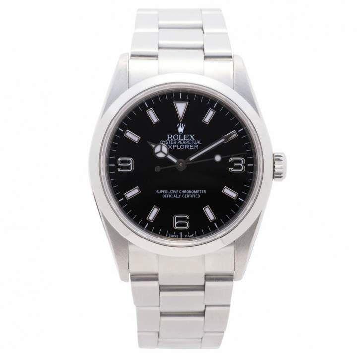 Rolex Black Steel Watches #rolexexplorer