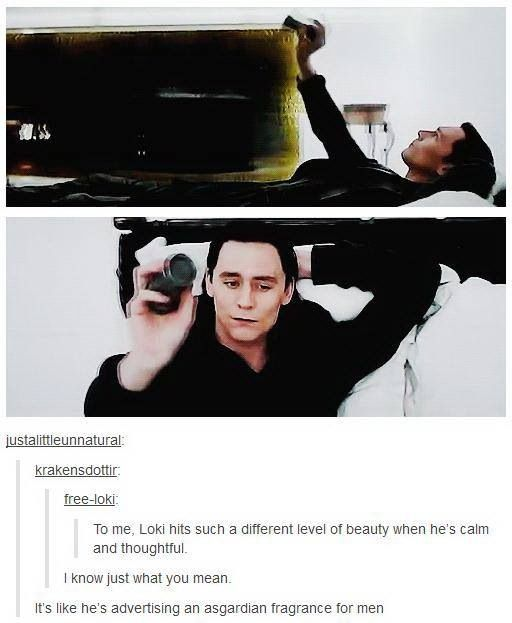 Now I Don T Like Loki Just Because He Looks Good But I